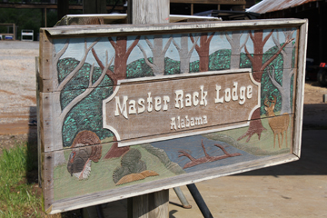 Master Rack Sign