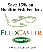 Moultrie Fish Feeder Specials
